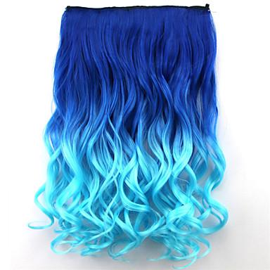 Synthetische Haare Haar-Verlängerung Locken Klassisch Mit Clip Alltag Gute Qualität