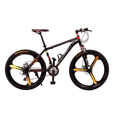 Geländerad Radsport 21 Geschwindigkeit 26 Zoll / 700CC Doppelte Scheibenbremsen Federgabel Vollfederung Rutschfest Aluminiumlegierung / Stahl