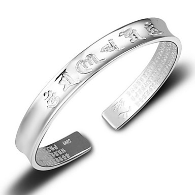 Dame Mansjettarmbånd - Sølv, Sølvplett Armbånd Sølv Til Bryllup