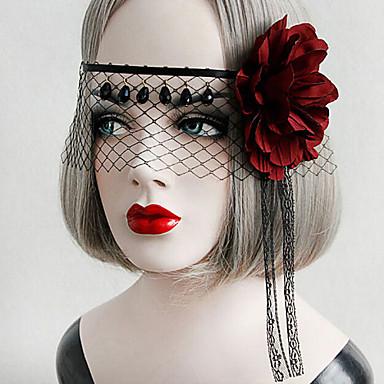 Lolita Accessories Gothic Lolita Punk Lolita Headwear Mask Seksikäs Tyylikäs Lolita Tarvikkeet Vintage varten