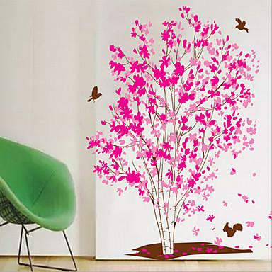 Botanisk Veggklistremerker Fly vægklistermærker Dekorative Mur Klistermærker Foto klistermærker,Vinyl Hjem Dekor Veggoverføringsbilde For