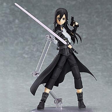 Figuras de Ação Anime Inspirado por Sword Art Online Kirito 15 CM modelo Brinquedos Boneca de Brinquedo