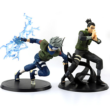 billige Action- og lekefigurer-Anime Action Figurer Inspirert av Naruto Monkey D. Luffy PVC 16 cm CM Modell Leker Dukke
