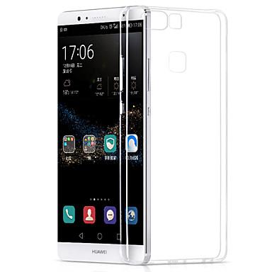 מגן עבור Huawei P9 Huawei P9 לייט Huawei P8 Huawei Huawei P8 לייט P9 Lite P9 P8 Lite P8 מגןHuawei אולטרה דק כיסוי אחורי צבע אחיד רך TPU ל
