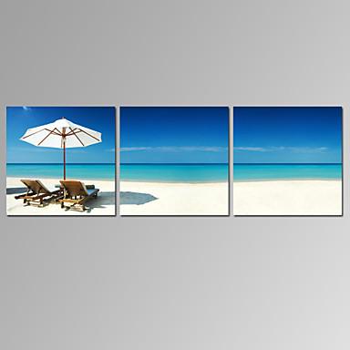 Famoso / Paisagem / Patriótico / Moderno / Romântico Impressão em tela 3 Painéis Pronto para pendurar,Horizontal