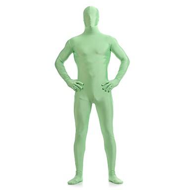חליפות Zenta Morphsuit Ninja Zentai תחפושות קוספליי ירוק אחיד /סרבל תינוקותבגד גוף Zentai ספנדקס לייקרה יוניסקסהאלווין (ליל כל הקדושים)