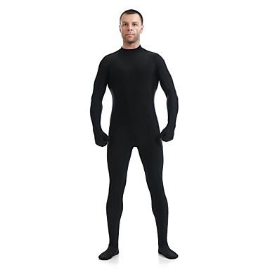 חליפות Zenta רובין הוד Ninja Zentai תחפושות קוספליי שחור אחיד /סרבל תינוקותבגד גוף Zentai חליפת חתול ספנדקס לייקרה יוניסקס האלווין (ליל