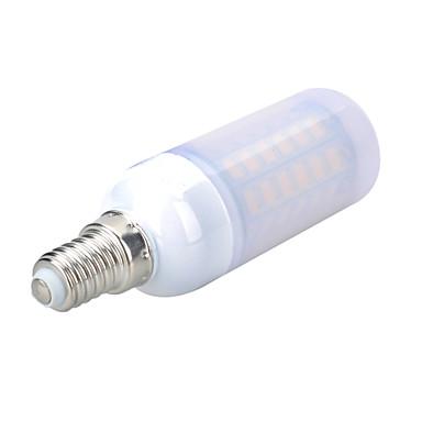 800-900 lm E14 LED Mais-Birnen B 56 Leds SMD 5730 Dekorativ Warmes Weiß Kühles Weiß Wechselstrom 220-240V
