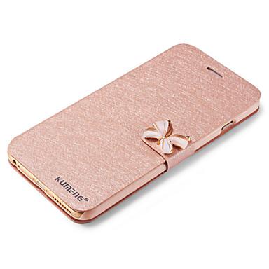 Hülle Für Apple iPhone X iPhone 8 iPhone 5 Hülle Kreditkartenfächer mit Halterung Flipbare Hülle Ganzkörper-Gehäuse Volltonfarbe Hart
