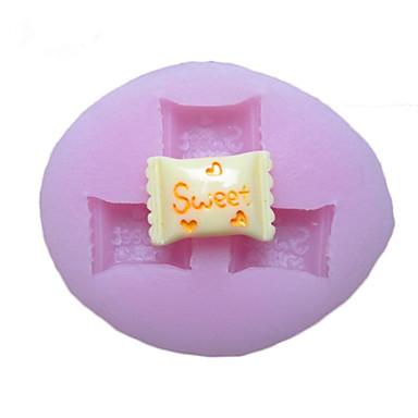 Flori trei găuri Candy Mold silicon Fondant Pres forme de zahăr Meșteșug Instrumente Resin Mucegai matrite pentru Torturi