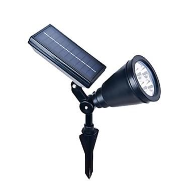 4led abs utendørs solenergi søkelys landskapet spot lys hage plen flom lampe