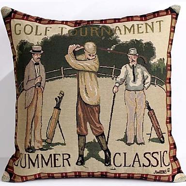 Stück Baumwolle/Leinen Kissenbezug, Grafik-Drucke Texture Traditionell-Klassisch