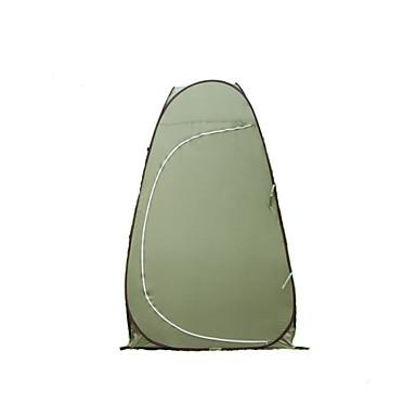 1 אדם אוהל יחיד קמפינג אוהל חדר אחד שינוי אוהל מלתחה עמיד למים עמיד אולטרה סגול ל חוף קמפינג חוץ לטייל ניילון CM