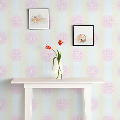 Tapete Blumen Tapete Zeitgenössisch Wandverkleidung,PVC/Vinyl