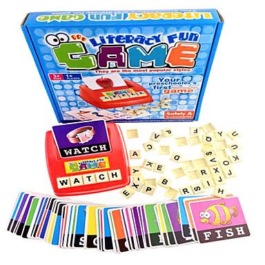 Učenje engleskog pismenosti zabavnu igru za dijete predškolske dobi s assorted kartaške igre