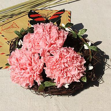 5cm hat szegfű / doboz tartósított friss virág