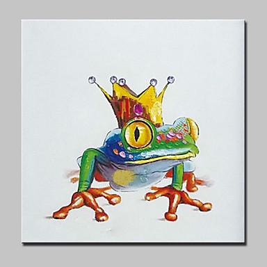 מצויר ביד אומנות פופ ריבוע, מודרני בַּד ציור שמן צבוע-Hang קישוט הבית פנל אחד