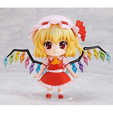 Anime Action-Figuren Inspiriert von Touhou Projekt Flandre Scarlet PVC 9 cm CM Modell Spielzeug Puppe Spielzeug