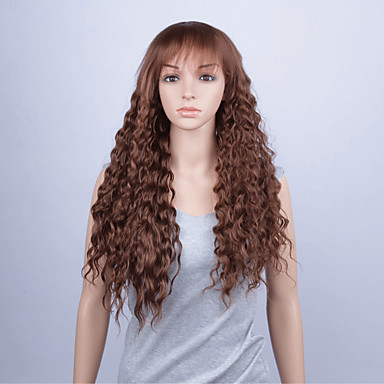 Synthetische Lace Front Perücken Lose gewellt Damen Spitzenfront Synthetische Haare