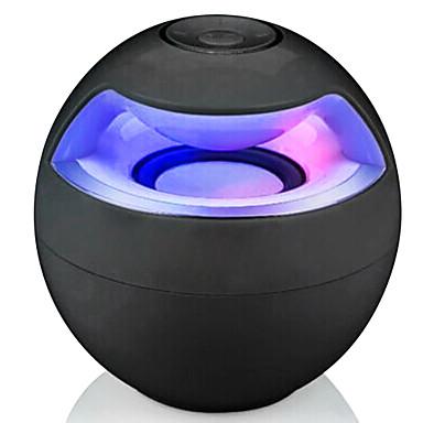 Портативные LED подсветка Bluetooth 2.1 USB Беспроводные колонки Bluetooth Белый Черный