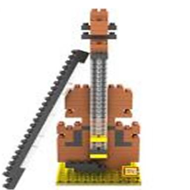 Blocos de Construir Blocos de diamante LOZ Brinquedos Violino Faça Você Mesmo Crianças Peças