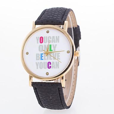 아가씨들 패션 시계 석영 가죽 밴드 블랙 화이트 블루 레드 브라운 핑크 퍼플 로즈