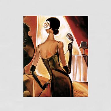 Maalattu Abstrakti Ihmiset Nude Pysty,Moderni 1 paneeli Kanvas Hang-Painted öljymaalaus For Kodinsisustus