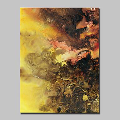 מצויר ביד מופשט / Fantasy / נוף אבסטרקט / Popמודרני פנל אחד בד ציור שמן צבוע-Hang For קישוט הבית