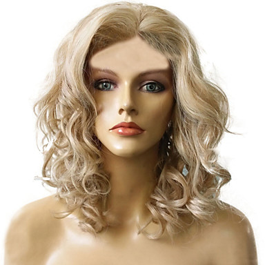 Sintetičke perike Kovrčav Sintentička kosa Plavuša Perika Žene Capless