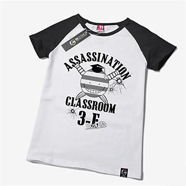 Inspiriert von Assassination Klassenzimmer Korosensei Anime Cosplay Kostüme Cosplay-T-Shirt Druck Kurzarm T-shirt Für Unisex