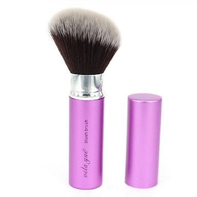 vela.yue® Retractable Blush Brush Angled Face Blend Contour Highlight Makeup Brush Beauty Tool