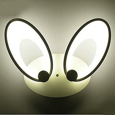 Integroitu LED Moderni Maalaus Ominaisuus for LED,Ympäröivä valo Seinälampetit Wall Light