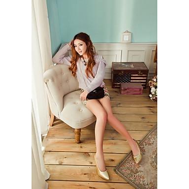 Habillé Doré Chaussures Printemps Fille 04976656 Paillette Eté Talon Femme Argent Violet Similicuir Aiguille Pa4wTR