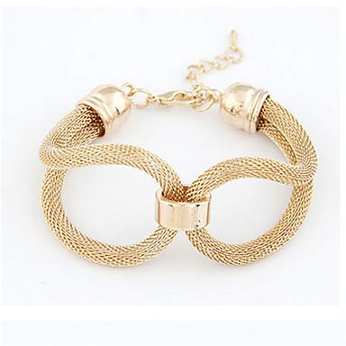 Ketten- & Glieder-Armbänder Einzigartiges Design nette Art Modisch Schmuck Gold Schwarz Silber Schmuck Für Party 1 Stück