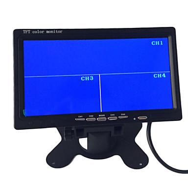 9 inča quad-TFT-LCD automobil osvrtnog monitor sa 4 av kanalu