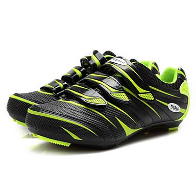 Tiebao Spor Ayakkabısı Bisiklet Ayakkabıları Unisex Anti-Kayma Tamponlama Havalandırma Nefes Alabilir Yıpranmaz Yol Bisikleti Bisiklete