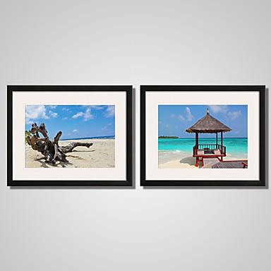 Archtektur Stillleben Landschaft Freizeit Gerahmte Printkunst Gerahmtes Leinenbild Gerahmtes Set Wandkunst,PVC Stoff Mit Feld For Haus