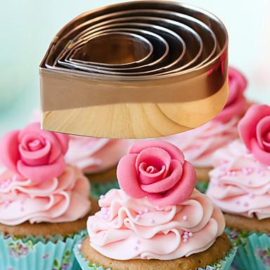 Backform Blume Obstkuchen Cupcake Kuchen Brot Edelstahl Heimwerken Gute Qualität