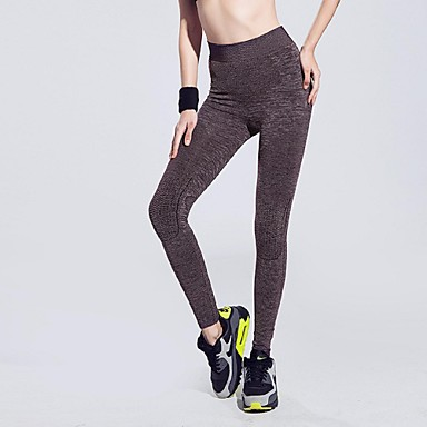 Dame Løp Shorts 3/4 Tights Leggings Bunner Fort Tørring Pustende Mykhet Vår Sommer Vinter Høst Yoga & Danse Sko Trening & Fitness Løp