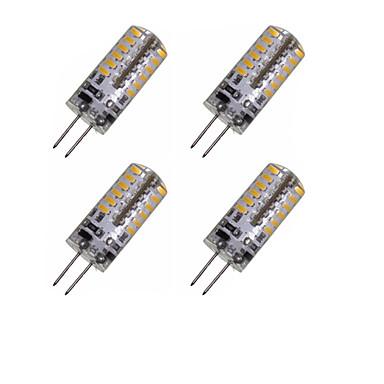 2W G4 Żarówki LED kukurydza MR11 48 Diody lED SMD 3014 Dekoracyjna Ciepła biel Zimna biel 150-200lm 3000-3500 6000-6500K DC 12 AC 220-240