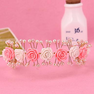 Damen Mädchen Perle Kopfschmuck-Hochzeit Besondere Anlässe Stirnbänder 1 Stück