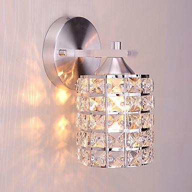 Krystall / Mini Stil Vegglamper,Moderne/ Samtidig E26/E27 Metall
