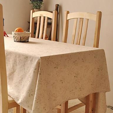 Négyzet Mintás Asztalterítők , Vászon & pamut keverék Anyag Táblázat Dceoration