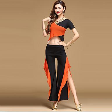 ריקוד בטן תלבושות בגדי ריקוד נשים הצגה טול תד נשפך עליון מכנסיים