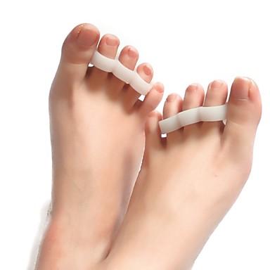 Tüm Vücut / Ayak Destekler Toe Ayırıcı & Bunyon Pad Duruş Şekli Düzeltici #(1 pcs)