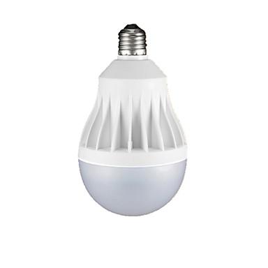 E26/E27 LED 글로브 전구 G60 1pcs SMD 3528 1450 lm 차가운 화이트 AC 220-240 V 1개