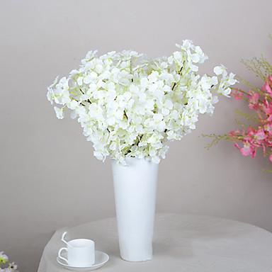 1 Ast Polyester Sakura Tisch-Blumen Künstliche Blumen