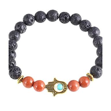 Herrn Damen Krystall Böser Blick Strang-Armbänder - Künstliche Perle Kreuz Böser Blick Silber Golden Armbänder Für Weihnachts Geschenke