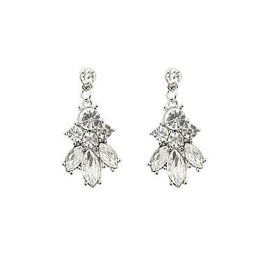 Damen Tropfen-Ohrringe Luxus Harz Strass Diamantimitate Aleación Schmuck Modeschmuck