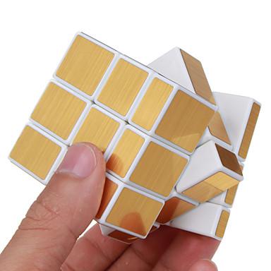Rubiks kube Shengshou Alien Speil Cube 3*3*3 Glatt Hastighetskube Magiske kuber Kubisk Puslespill profesjonelt nivå Hastighet Speil Gave
